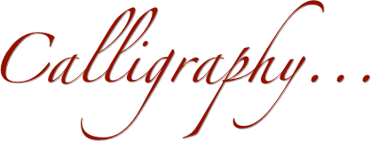 Welcome Calligraphy classes near me